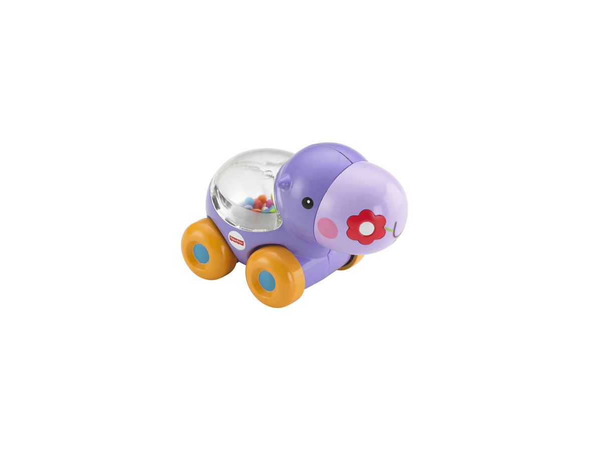 Fisher-Price Развивающая игрушка Бегемотик с прыгающими шариками