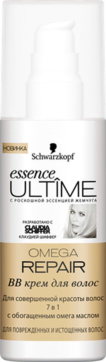 Essence Ultime BB-крем Omega Repair, для поврежденных и истощенных волос, 100 мл9263062BB-крем Essence Ultime Omega Repair предназначен для поврежденных и истощенных волос. Для совершенной красоты волос 7 в 1 с обогащенным омега маслом: 1. Уход и восстановление 2. Контроль над сечением 3. Легкое расчесывание 4. Блеск и эластичность 5. Упругость и сила 6. Увлажнение 7. Без утяжеления. Характеристики:Объем: 100 мл. Артикул: 1831564. Изготовитель: Германия. Товар сертифицирован.