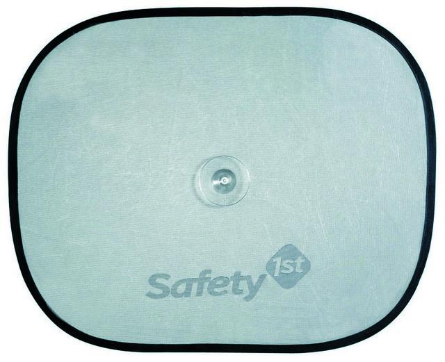 Шторка солнцезащитная Safety, 2 шт21395599Комплект из двух солнцезащитных шторок для автомобильных окон Safety предохраняет от прямых солнечных лучей. Шторка представляет собой сетчатое полотно, которое на присоске присоединяется к стеклу автомобиля. Характеристики:Материал: текстиль, силикон. Размер шторки: 20 см х 19 см х 3 см.