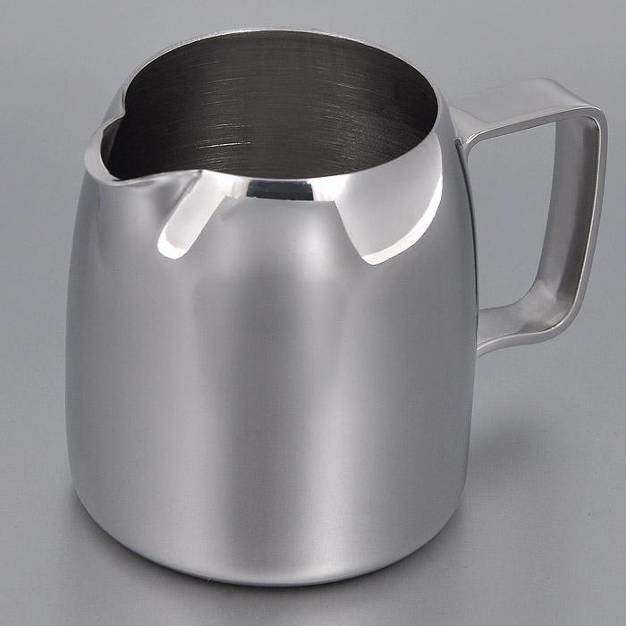 Молочник Stellar, 280 мл115510Молочник Stellar сочетает в себе изысканный дизайн с максимальной функциональностью. Молочник выполнен из высококлассной нержавеющей стали с зеркальной полировкой. Молочник Stellar отлично подойдет для интерьера вашей кухни.Изделие соответствует всем гигиеническим требованиям. Характеристики:Материал: нержавеющая сталь. Размер молочника без ручки (В х Ш х Д): 7 см x 6,5 см x 7,5 см. Объем: 280 мл. Размер упаковки: 9 см х 9 см х 8 см. Производитель: Португалия. Артикул: 41281318ST10.