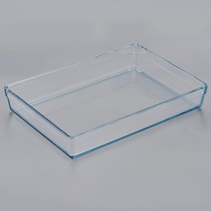 Лоток для СВЧ Pasabahce Borcam Premium, прямоугольный, 36,5 х 25,5 см 59334391602Прямоугольный лоток для СВЧ Pasabahce Borcam Premium выполнен из жаропрочного стекла.Стекло - самый безопасный для здоровья материал. Посуда из стекла не вступает в реакцию с готовящейся пищей, а потому не выделяет никаких вредных веществ, не подвергается воздействию кислот и солей. Из-за невысокой теплопроводности пища в ней гораздо медленнее остывает. Стеклянная посуда очень удобна для приготовления и подачи самых разнообразных блюд: супов, вторых блюд, десертов. Благодаря прозрачности стекла, за едой можно наблюдать при ее готовке, еду можно видеть при подаче, хранении. Используя такую посуду, вы можете как приготовить пищу, так и изящно подать ее к столу, не меняя посуды. Благодаря гладкой идеально ровной поверхности посуда легко моется. Можно использовать в духовках, микроволновых печах и морозильных камерах (выдерживает температуру от - 30°C до 300°C). Можно мыть в посудомоечной машине. Характеристики: Материал: жаропрочное стекло. Размер лотка: 36,5 см х 25,5 см. Высота стенки: 6 см. Размер упаковки: 44 см х 33 см х 7 см. Артикул: 59334.