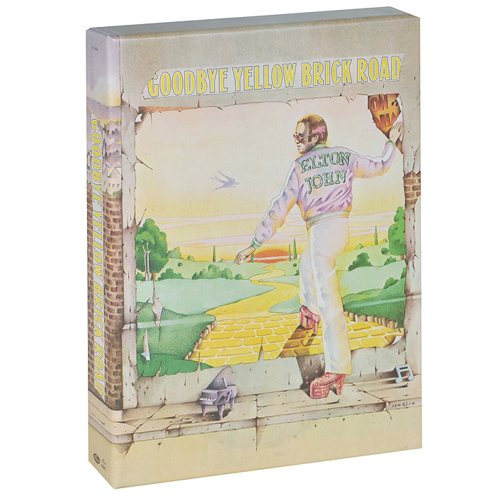 Элтон Джон Elton John. Goodbye Yellow Brick Road (4 CD + DVD) элтон джон elton john greatest hits 1970 2002 2 cd