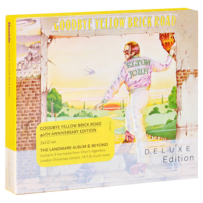 Элтон Джон Elton John. Goodbye Yellow Brick Road. Deluxe Edition (2 CD) элтон джон elton john one night only the greatest hits 2 cd dvd