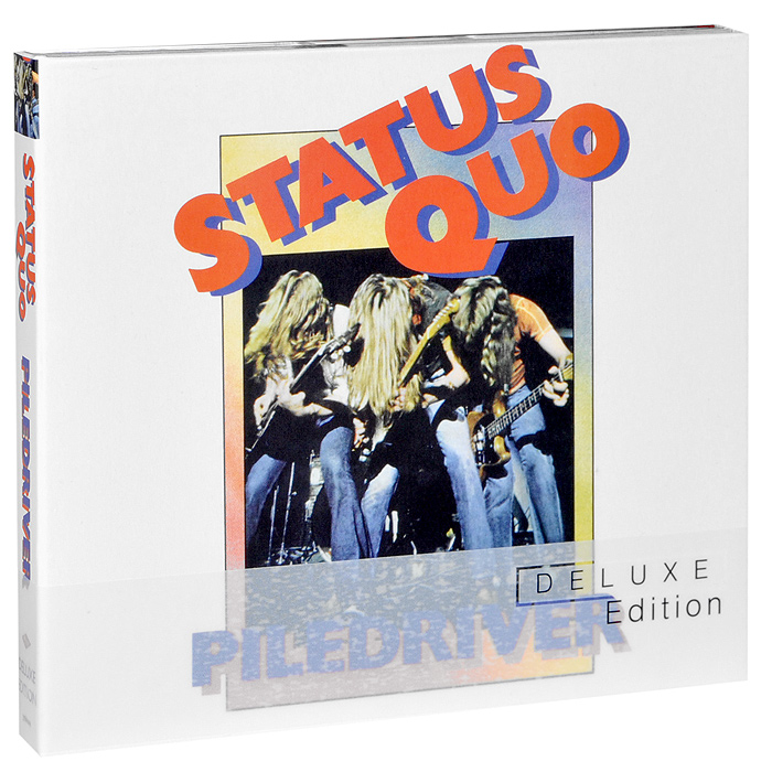Status Quo Status Quo. Piledriver. Deluxe Edition (2 CD) touchstone teacher s edition 4 with audio cd