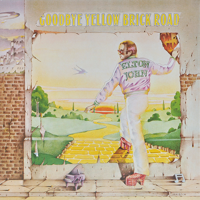 Элтон Джон Elton John. Goodbye Yellow Brick Road (2 LP) элтон джон elton john greatest hits 1970 2002 2 cd