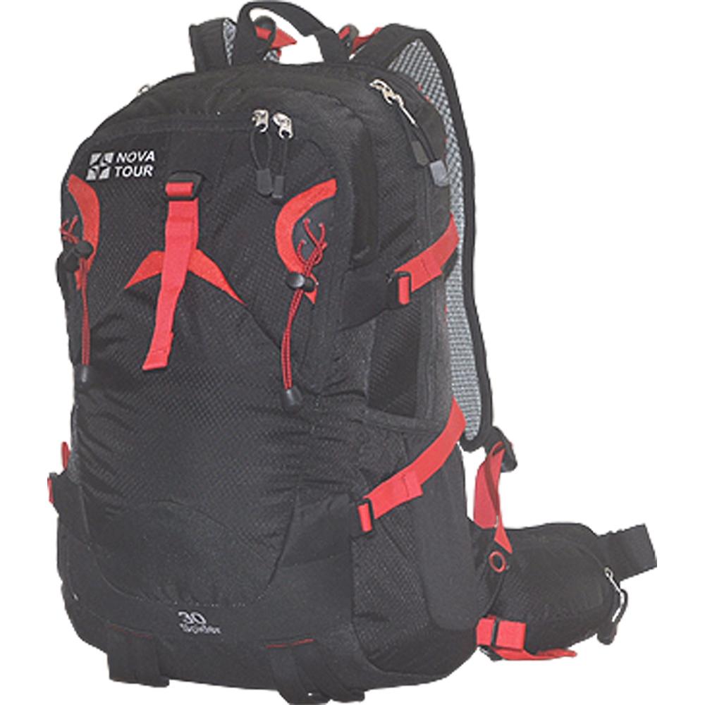 Рюкзак городской Nova Tour Блэк Спайдер 30, цвет: черный13452-901-00Стильный рюкзак для занятий спортом и активного отдыха. Для комфорта при повседневневном ношении, предусмотрена новая удобная система подушек с регулируемыми лямками и съемной вставкой для жесткости спинки. Приятным дополнением к основному отделению служит органайзер, карабин для ключей и отделение для гидратора. Всем необходимым мелочам найдется место в кармане на фасадной части, в двух боковых эластичных карманах, карманах на лямке и поясе рюкзака. Характеристики:Материал: Poly Oxford 420D Ripstop, фурнитура PVC. Размер рюкзака: 51 см х 31 см х 18 см. Объем: 30 л. Цвет: черный. Размер упаковки: 40 см х 30 см х 20 см. Артикул: 13452-901-00.