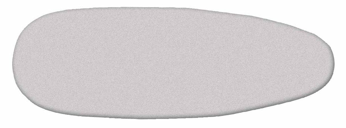 Чехол Rayen для гладильной доски, 47 см х 130 см4606920000043_фиолетовый, розовый цветокУниверсальный хлопчатобумажный чехол с плотной поролоновой подкладкой покрыт титановым слоем и пеной полиуретана, что достигается пропиткой титанодиоксидным раствором. Подобная обработка материала дает ряд преимуществ по сравнению с обычными чехлами.упрочняется хлопчатобумажная ткань чехла, что увеличивает срок службы,улучшается скольжение утюга, титановый слой быстро нагревается от утюга и отражаетнакопленное тепло с обратной стороны проглаживаемой ткани, что позволяет гладить вещи только с одной стороны.Чехол фиксируется на доске при помощи стягивающего шнура.Металлизированная ткань отражает тепло и выдерживает температуру до +200 градусов. Эффект обратного отпаривания.Чехол стирать только ручной стиркой при температуре не более +40 градусов. Характеристики: Материал: хлопок. Размер чехла: 47 см х 130 см. Мах размер доски: 40 см х 126 см.Производитель: Испания. Цвет: серебристый.