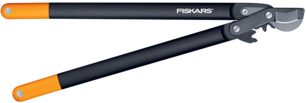 Сучкорез плоскостной Fiskars, с загнутыми лезвиями, 69 смRSP-202SСучкорез Fiskars с силовым приводом PowerGear создан для требовательных садоводов. Уникальный механизм PowerGear гарантирует максимальную мощность инструмента. Сучкорез снабжен увеличивающими усилие зубчатыми (некруговым) механизмом, который оптимально распределяет отрезное усилие, когда это необходимо.Особенности сучкореза:Подходит для обрезки свежей древесины, например кустарников, веток плодовых деревьевРукоятки из материала FiberComp обеспечивают легкость и прочность инструментаПокрытие рукояток SoftGrip обеспечивает высокий комфорт при работеМеханизм PowerGear облегчает подрезку в три раза по сравнению с другими стандартными конструкциямиЛезвие загнуто для оптимального захвата Верхнее лезвие из высококачественной углеродистой сталиАнтифрикционное покрытие верхнего лезвия облегчает резку и уход за инструментомПлоскостная режущая головка позволяет резать у основания ветви Характеристики: Общая длина сучкореза: 69 см. Длина лезвия: 6,5 см. Вес сучкореза: 1060 г. Диаметр реза: 5 см. Материал: нержавеющая сталь, пластик, резина.