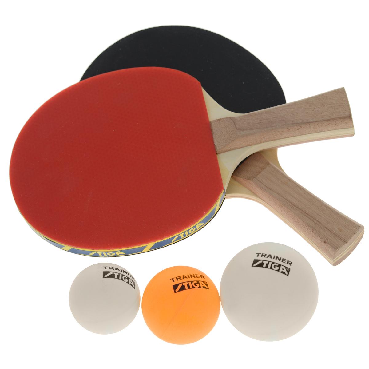 Выбирая для своего ребенка детский настольный теннис в качестве развивающего вида спорта, вы принимаете удачное решение. Особенно сильно на успешность тренировок в первое время будет влиять правильность подобранной ракетки. Приобретая набор Technique, включающий в себя 2 ракетки и 3 мяча, вы не только даете ребенку возможность играть в теннис со своими друзьями, но и подбираете в первую очередь идеально сбалансированное для детской руки изделие.