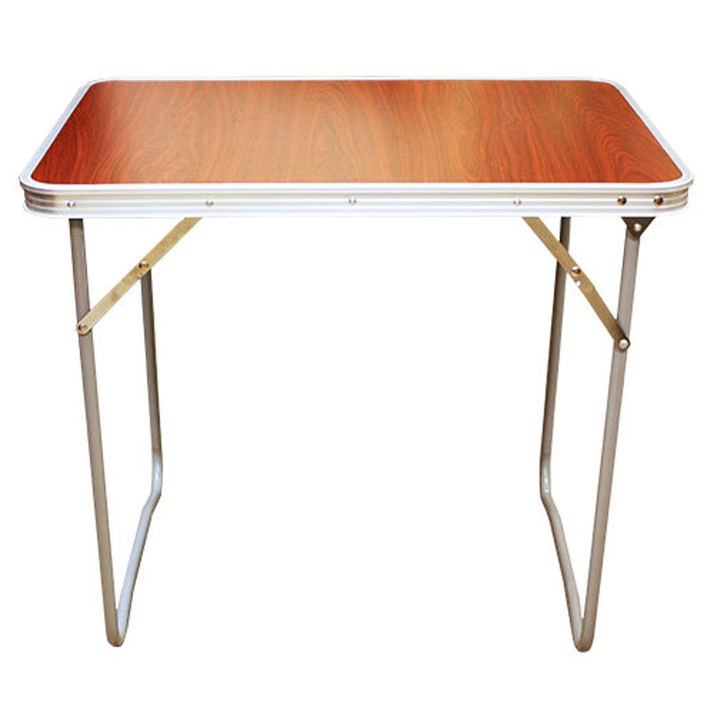 Стол складной Happy CamperNFL-20401Стол складной Happy Camper - это незаменимый предмет походной мебели, очень удобен в эксплуатации. Каркас складного стола выполнен из алюминия, а столешница из МДФ. Стол легко собирается и разбирается и не занимает много места, поэтому подходит для транспортировки и хранения дома. Складывается в виде чемоданчика.Характеристики: Материал ножек: алюминий. Материал поверхности: МДФ. Размеры в разложенном виде: 70 см х 50 см х 60 см. Размеры в сложенном виде: 70 см х 6 см х 50 см.