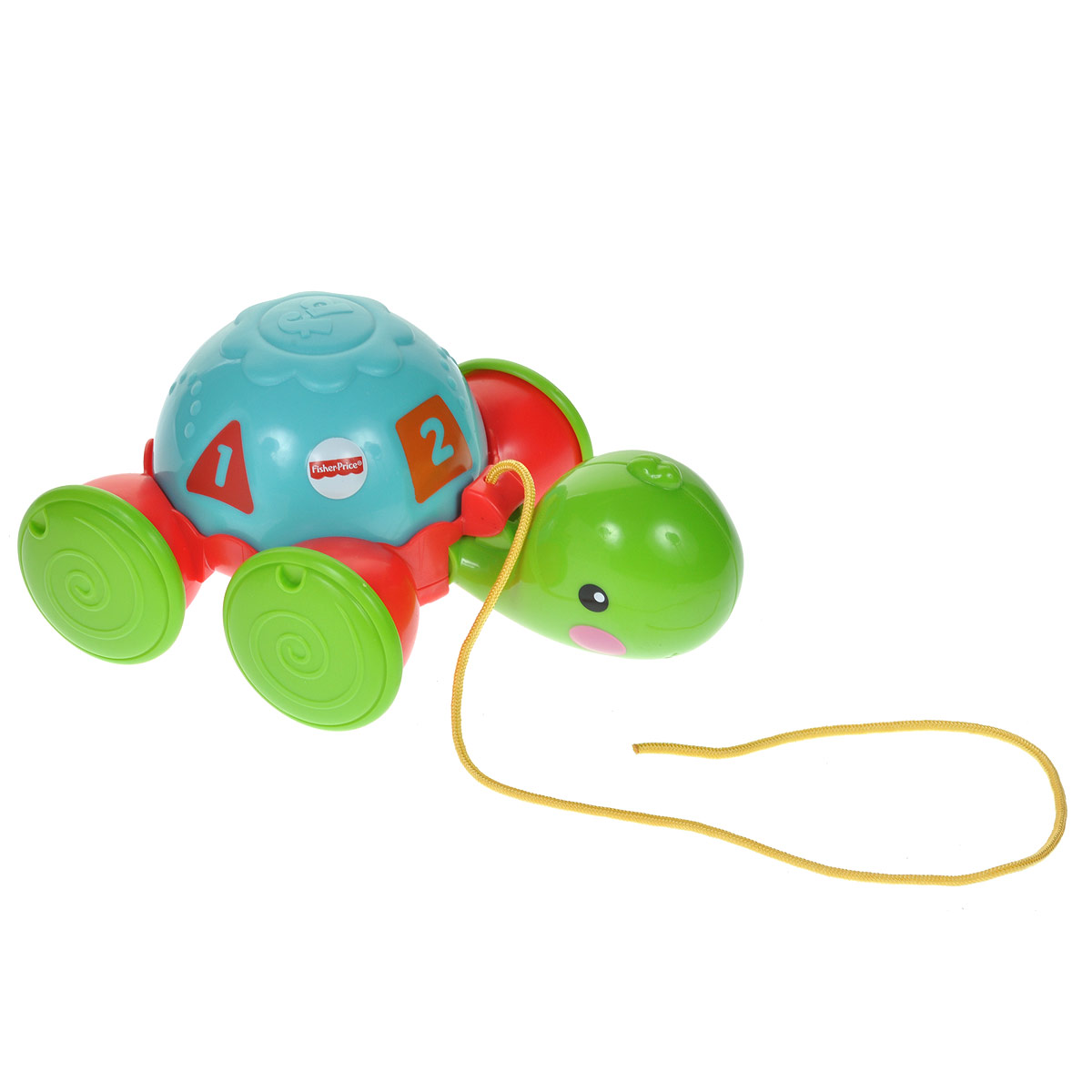Fisher-Price Infant Каталка Обучающая черепашка на колесиках