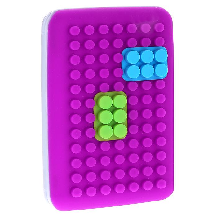 Кредитница Put In, цвет: фуксия. 0605036B16-11416Кредитница Put In выполнена из пластика серого цвета и силиконовыми вставками. Внутри содержится блок из плотной бумаги на 8 карт. Кредитница- это не только стильная вещь для хранения карточек, но и модный аксессуар, который подчеркнет вашу яркую индивидуальность. Характеристики:Цвет: фуксия.Материал: пластик, силикон, бумага.Размер блокнота: 14 см х 9 см х 1,5 см.