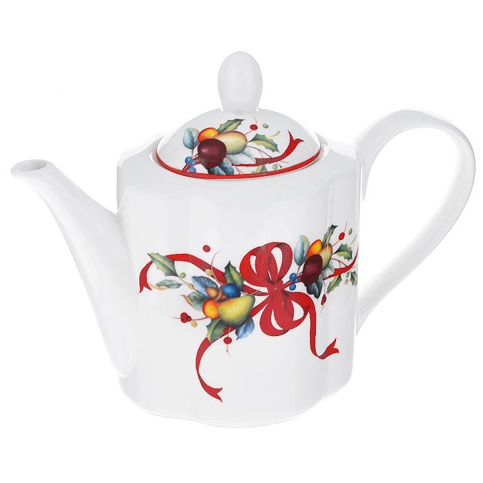 Чайник заварочный Azulejo Espanol Ceramica, 900 мл. 214105214105Заварочный чайник Azulejo Espanol Ceramica, изготовленный из высококачественной керамики, оформлен красочным рисунком. Чайник сочетает в себе стильный дизайн с максимальной функциональностью. Красочность оформления придется по вкусу и ценителям классики, и тем, кто предпочитает утонченность и изысканность.Чайник поможет заварить крепкий ароматный чай и великолепно украсит стол к чаепитию. Характеристики: Материал: керамика. Объем: 900 мл. Размер чайника (с учетом носика, ручки и крышки): 24 см х 10,5 см х 13,5 см.
