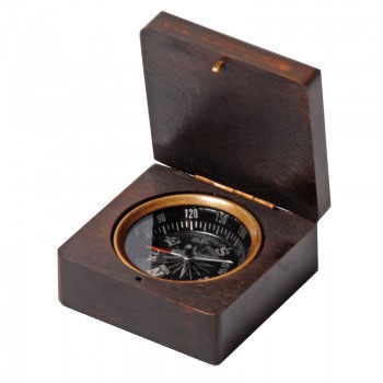 Компас в деревянной коробке Экспедиция  Беллинсгаузен  - Компасы и Курвиметры