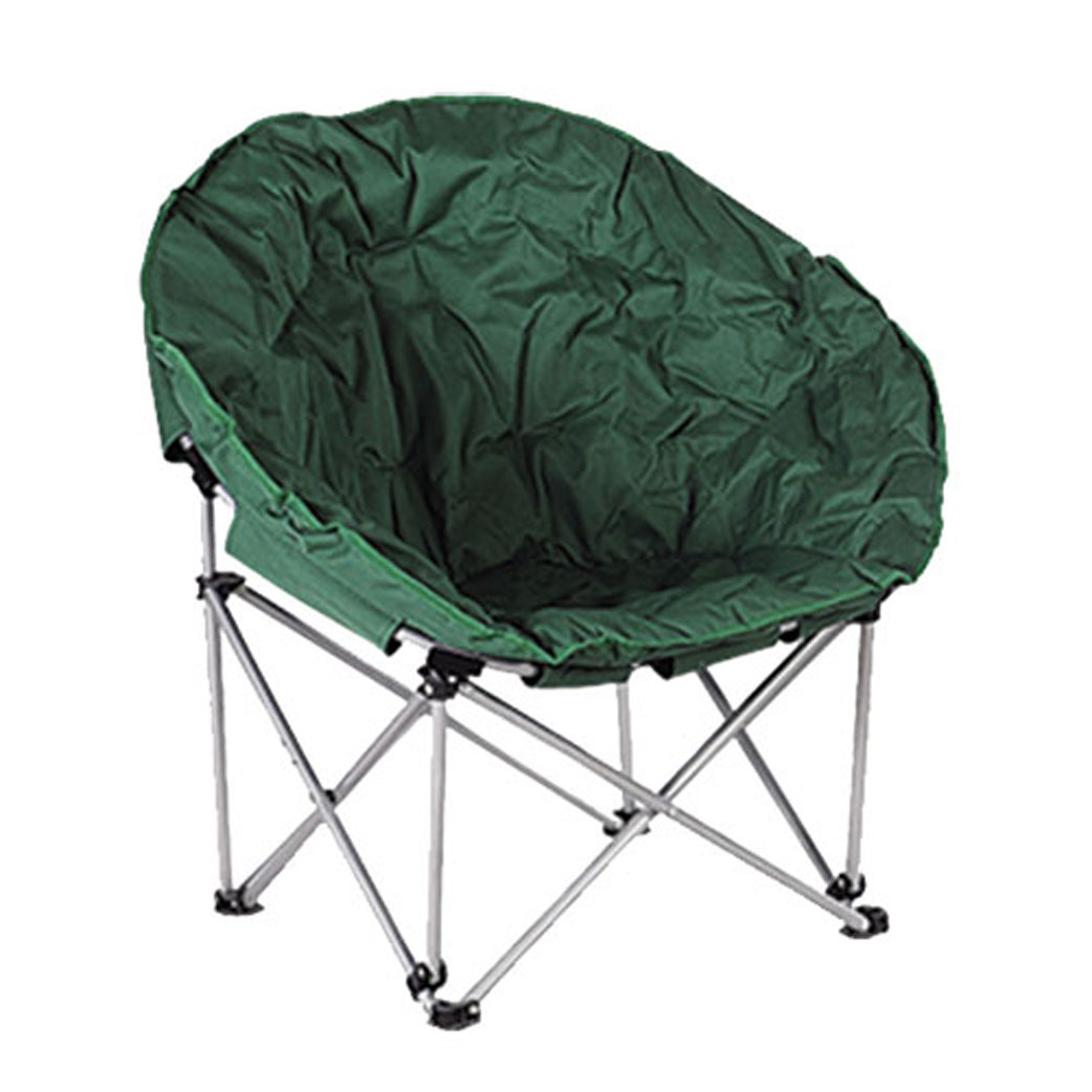 Кресло складное Happy Camper, цвет: зеленыйNFL-20401Кресло складное Happy Camper - это незаменимый предмет походной мебели, очень удобен в эксплуатации. Каркас кресла изготовлен из прочного и долговечного стального сплава, устойчивого к погодным условиям, и оснащенный простым и безопасным механизмом фиксации.Кресло легко собирается и разбирается и не занимает много места, поэтому подходит для транспортировки и хранения дома. Складное кресло прекрасно подойдет для комфортного отдыха на даче или в походе.Материал: 600D ПВХ, каркас - сталь диаметром 16 мм. Наполнитель синтепон.Размеры кресла в сложенном состоянии: 80 см х 70 см х 36 см.Максимальная нагрузка: 110 кг.