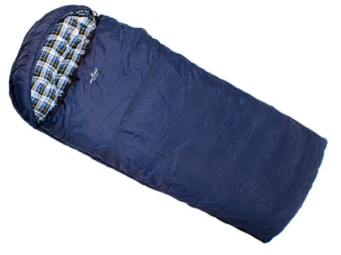 Спальный мешок Woodland IRBIS 400 L, левосторонняя молния010-01199-23Спальные мешки Irbis - это идеальное решение для любителей активного отдыха и кемпингов, которым требуется компактное и легкое снаряжение в сочетании с комфортом и наилучшим утеплением.Этот спальник предназначен для эксплуатации в условиях влажной и холодной погоды. Рассчитан на три сезона использования, что позволяет спать в комфорте даже при сильных заморозках.Технология простегивания Jointless позволяет не прошивать внешнюю ткань спального мешка, что значительно уменьшает потерю тепла и позволяет увеличить температуру внутри спальника на 2°С. Объемный утепляющий воротник предотвращает проникновение холодного воздуха. Благодаря двухсторонней молнии спальники могут превращаться в одеяло, а так же состегиваться между собой. Теплоизолирующая полоса вдоль молнии исключает потерю тепла. Характеристики:Наружный материал: 210T POLYESTER RIP-STOP W/R W/P. Внутренний материал:100% COTTON FLANNEL. Утеплитель: 2х180g/m2 HOLLOW FIBER. Размер: 225 см х 90 см.
