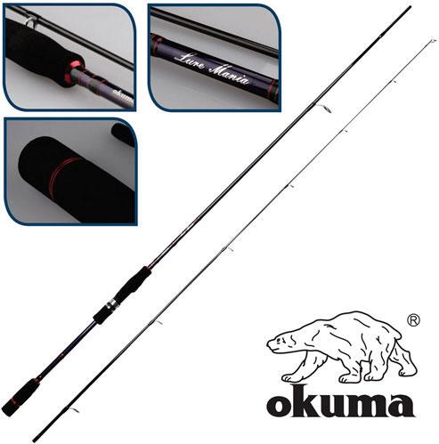 """Удилище спиннинговое Okuma """"LureMania"""", 2,58 м, 12-45 г"""