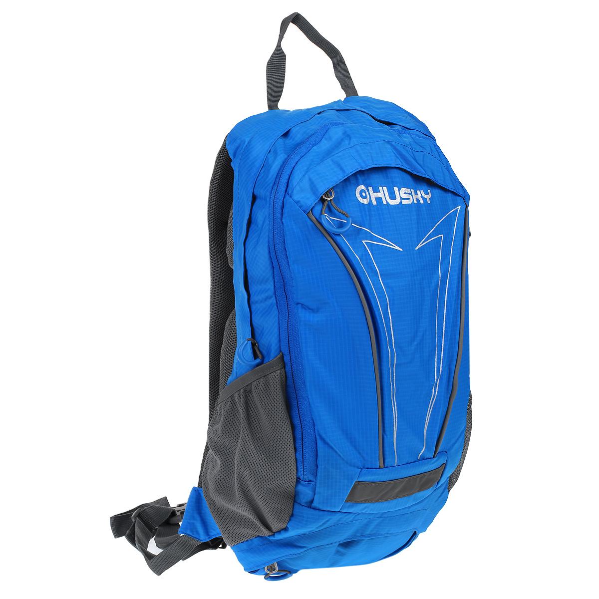 Рюкзак городской Husky Balot 12, цвет: синийRivaCase 8460 blackУниверсальный рюкзак Balot подойдет не только для городского ритма жизни, но и еще и для велосипедных прогулок. Сдержанный (почти, однотонный) дизайн, найдет своих сторонников и среди тех, кто любит классические окраски, и среди поклонников яркого дизайна.Особенности:-водонепроницаемая ткань,-система вентиляции спины AMS, -внутренний органайзер,-место для питьевой системы, -накидка от дождя,-боковые карманы-сетки, -светоотражающие элементы.