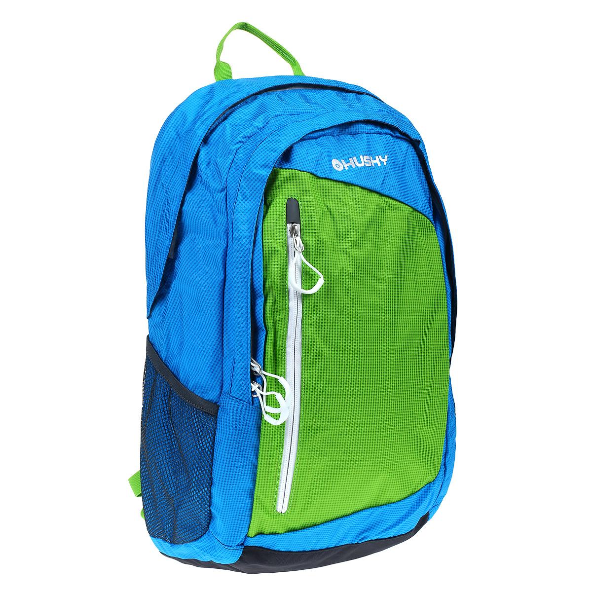 Рюкзак городской Husky Marel 27, цвет: синий95429-924Рюкзак городской Husky Marel 27 подойдет как для школы, так и для повседневной носки в городе. У рюкзака два больших отделения, один передний карман и специальный карман для ноутбука.Особенности: водонепроницаемая ткань; система вентиляции спины AMS;отделение для ноутбука;внутренний органайзер;боковые карманы-сетки;светоотражающие элементы.
