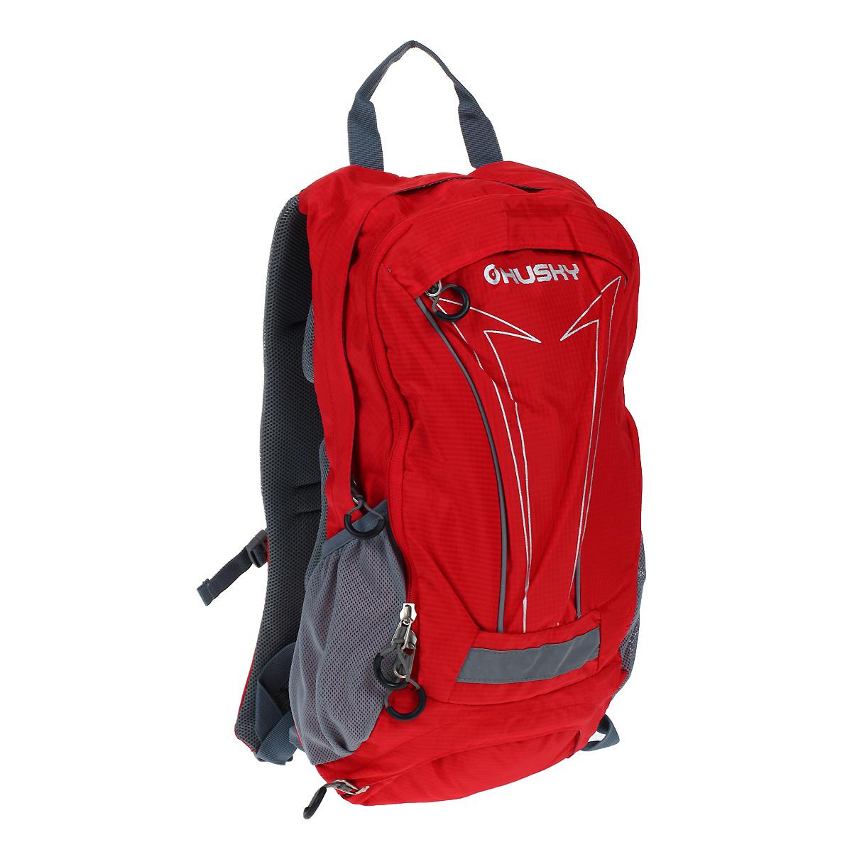 Рюкзак городской Husky Balot 12, цвет: красныйMHDR2G/AУниверсальный рюкзак BALOT подойдет не только для городского ритма жизни, но и еще и для велосипедных прогулок. Сдержанный (почти, однотонный) дизайн, найдет своих сторонников и среди тех, кто любит классические окраски, и среди поклонников яркого дизайна.Особенности:-водонепроницаемая ткань,-система вентиляции спины AMS, -внутренний органайзер,-место для питьевой системы, -накидка от дождя,-боковые карманы-сетки, -светоотражающие элементы.