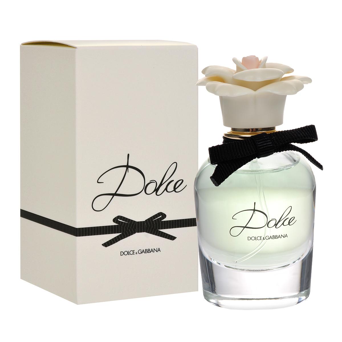 Dolce&Gabbana Парфюмерная вода Dolce, женская, 30 мл04124Нежный и элегантный Dolce&Gabbana Dolce подобен изысканному и неповторимому дизайнерскому наряду, в котором каждая деталь, каждая мелочь точно выверены и идеально выполнены. В композиции аромата каждая нота звучит ярко и красиво, и вместе с тем не нарушает общей гармонии, безупречно сочетаясь с окружающими ее аккордами. Dolce&Gabbana Dolce - гимн женственности и изящности. Покоряющий плавностью своих линий флакон сделан из прозрачного стекла и увенчан стильным «марципановым цветком» - визитной карточкой лучших сицилийских кондитеров. Аромат открывается свежестью нероли и цветов папайи. Средние ноты состоят из белых амариллиса, нарцисса и лилии. База обволакивает кашемиром и мускусом, дающими ощущение мягкости. Классификация аромата: цветочный. Товар сертифицирован.