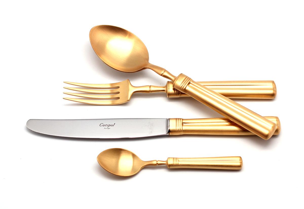 Набор столовых приборов Fontainebleau Gold мат. набор 72 предмета 9162-7254 0093129162-72 FONTAINEBLEAU GOLD мат. Набор 72 пр. Характеристики: Материал: сталь.Размер: 660*305*225мм.Артикул: 9162-72.