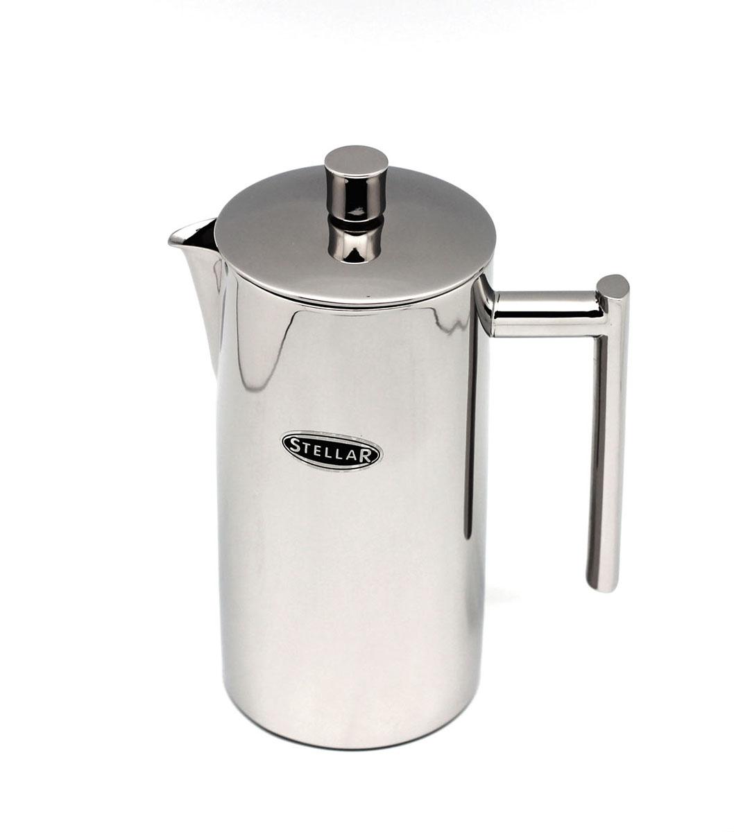 Френч-пресс Silampos Stellar, 0,8 л120074Френч-пресс Silampos Stellar используется для заваривания крупнолистового чая, кофе среднего помола, травяных сборов. Изделие, изготовленное из высококачественной стали. Френч-пресс Silampos Stellar незаменим для любителей чая и кофе.Объем: 0,8 мл.Размеры: 13 х 12 х 22,5 см.