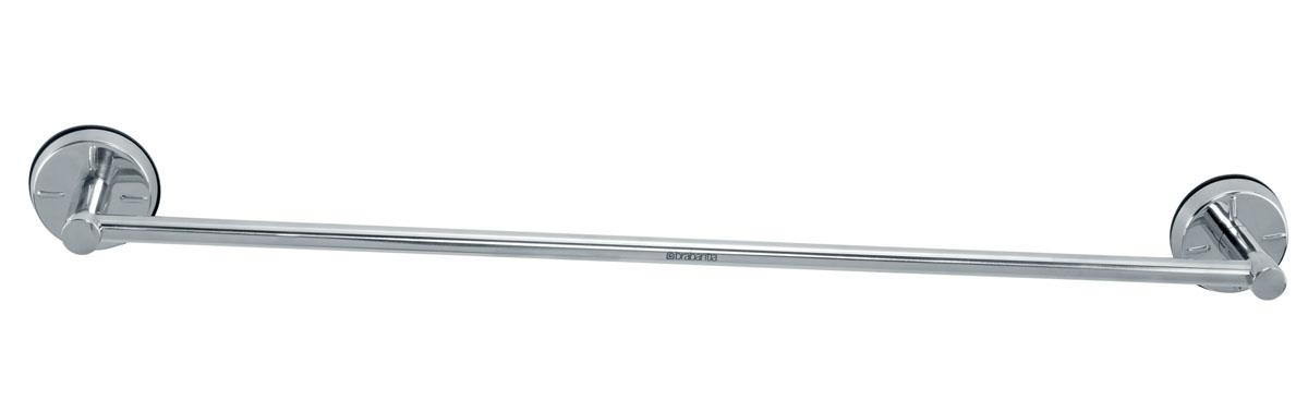 Держатель для полотенец Brabantia, настенный. 42732912240Держатель Brabantia выполнен из нержавеющей стали с зеркальной полировкой и крепится при помощи специальных креплений (входят в комплект). Держатель можно повесить на стене в ванной комнате или на кухне. Предназначен для домашнего использования и займет достойное место среди аксессуаров на вашей кухне.