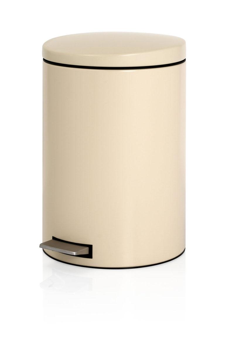Бак мусорный Brabantia, с педалью, цвет: бежевый, 20 л10503Мусорный бак Brabantia выполнен из антикоррозийной матовой стали с защитой от отпечатков пальцев. Особенности мусорного бака Brabantia: пластиковый защитный ободок (не царапает пол); нескользящая основа; внутренняя корзина из пластика со специальными вентиляционными отверстиями для предотвращения образования вакуума при извлечении полного пакета; прочная ручка на пластиковой корзине; крышка закрывается бесшумно, плотно прилегает, предотвращая распространение запаха; отдельная емкость из пластика для пищевых отходов; фирменные мусорные мешки в комплекте.Диаметр бака: 29 см.Высота бака: 44,5 см.Высота бака с открытой крышкой: 73 см.Длина бака с учетом педали: 38 см.