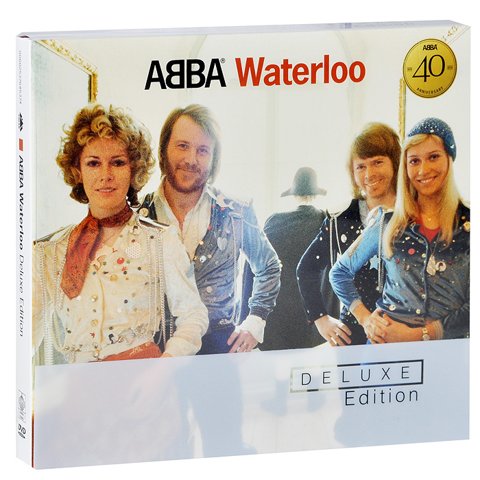 Bonus DVD содержит: 01. Waterloo (Eurovision Song Contest Performance I, BBC) 02. Waterloo (Melodifestivalen Performance I, SVT) 03. Waterloo (Melodifestivalen Performance II, SVT) 04. Waterloo (Eurovision Song Contest Preview Performance, SVT) 05. Waterloo (Eurovision Song Contest, Performance II, BBC) 06. Interview With Frida And Stig After The Eurovision Victory (Rapport, SVT) 07. Waterloo (Top Of The Pops Performance I, BBC) 08. Honey Honey (Disco, ZDF) 09. Waterloo (Top Of The Pops Performance II, BBC) 10. Honey Honey (Spotlight, ORF) 11. Waterloo (German Version) (Music Aus Studio B, NDR) 12. Honey Honey (Ein Kessel Buntes, Fernsehen Der DDR) 13. Waterloo (Top Of The Pops Performance III, BBC) 14. International Sleeve Gallery Picture Format: PAL 4x3 Format: DVD-5Time: 43 mins. Color Mode: Color Region Code: 0 (All)Language And Audio Content: English Dolby Digital 2.0 Subtitles: Swedish / English / French / German / Spanish / Portuguese