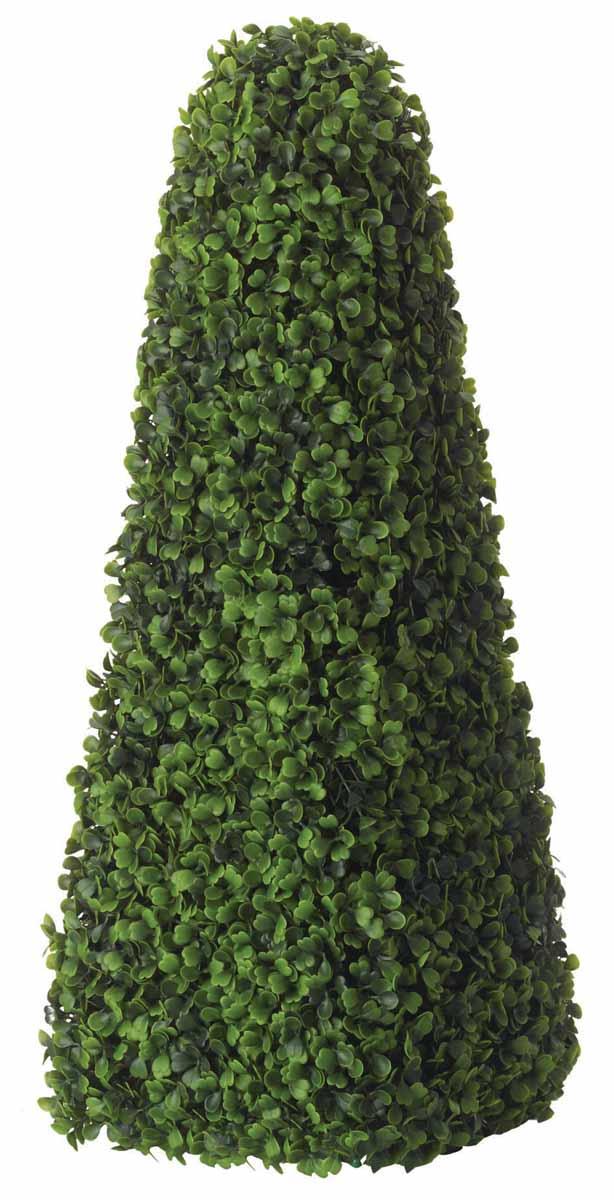 Растение искусственное Topiary Obelisk. Самшит, высота 60 см7308BHИскусственное растение Topiary Obelisk. Самшит, выполненное из пластика на проволочном каркасе в виде лиственного куста, великолепно украсит интерьер офиса, дома или дачи. Такое растение устойчиво к воздействию солнечных лучей и погодных условий. Идеально для декора помещений на свежем воздухе (веранды, балконы и т.д.). Не намокает и не выцветает. Искусственное растение Topiary Obelisk. Самшит оригинально украсит ваш дом или сад и станет замечательным дизайнерским решением. Характеристики:Материал: пластик, металл. Высота растения: 60 см. Размер основания: 22 см х 22 см. Товары для садоводства от Gardman - это вещи, сделанные с любовью, с истинно английской практичностью,основанной на глубоких традициях садоводства Великобритании. Эти товары широко известны садоводам Европы, США, Канады и Японии. Демократичные цены ипродуманный ассортимент Gardman завоевал признательность и российского покупателя, достойного хороших,качественных вещей. В ассортименте Gardman есть практически все, что нужно современному садоводу - от совочка для рассады допредметов декора и ландшафтного дизайна.