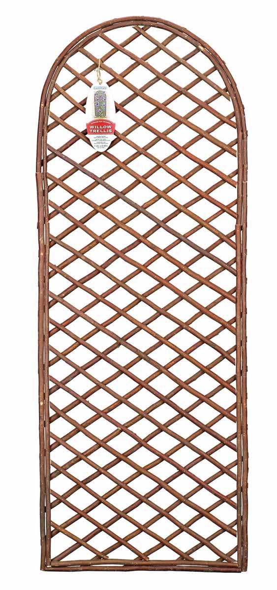 Панель решетчатая Gardman, с закругленным верхом, 1,2 м x 45 см9103500790Решетчатая панель Gardman изготовлена из ивовых прутьев. Панель можно использовать для поддержки вьющихся растений или как экран, разграничивающий пространство. Решетчатая панель Gardman оригинально украсит ваш дом или сад и станет замечательным дизайнерским решением. Характеристики: Материал: ивовые прутья. Размер панели: 1,2 м x 45 см. Товары для садоводства от Gardman - это вещи, сделанные с любовью, с истинно английской практичностью, основанной на глубоких традициях садоводства Великобритании. Эти товары широко известны садоводам Европы, США, Канады и Японии. Демократичные цены и продуманный ассортимент Gardman завоевал признательность и российского покупателя, достойного хороших, качественных вещей. В ассортименте Gardman есть практически все, что нужно современному садоводу - от совочка для рассады до предметов декора и ландшафтного дизайна.