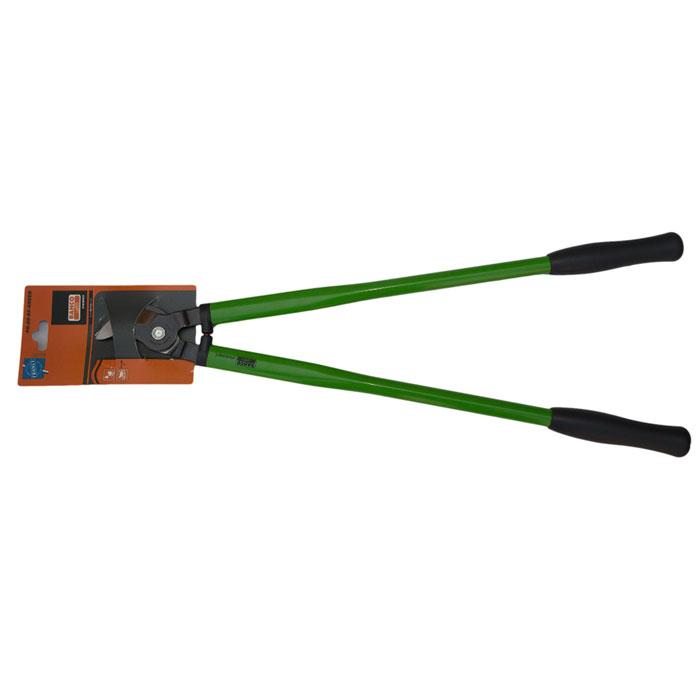 Сучкорез Bahco, цвет: зеленый, длина 65 см. PG-28-65-GREEN787502Сучкорез Bahco с крепкой режущей головкой предназначен для кустарников и маленьких деревьев. Стальные рукоятки с удобными пластиковыми захватами. Режущая головка из закаленной и отпущенной высокоуглеродистой стали.