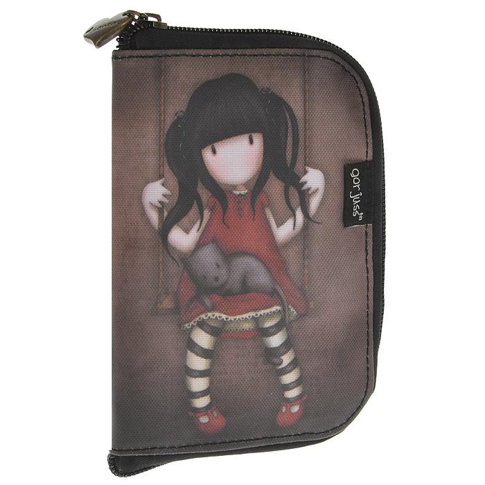 Складывающаяся сумка для покупок Ruby, цвет: коричневый. 0012114L39845800Складывающаяся сумка для покупок с милой девочкой Gordjuss непременнопорадует вас или станет прекрасным подарком. Сумка складывается всимпатичный чехольчик на молнии, сама сумка выполнена из текстилясерого цвета с орнаментом и имеет две удобные ручки. Сумка очень удобна виспользовании - ее легко раскладывать и складывать. Характеристики:Материалы: текстиль, ПВХ, металл. Цвет: коричневый. Размер чехла на молнии: 10,5 см x 16 см x 1,5 см. Размер сумки в разложенном виде: 54 см х35 см х 17 см.