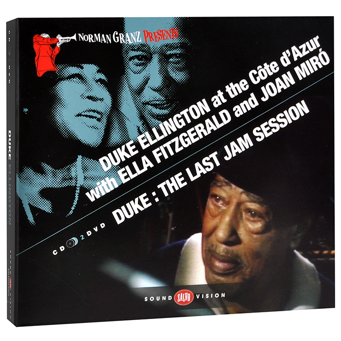 Дюк Эллингтон Duke Ellington At The Cote D'Azur With Ella Fitzgerald And Joan Miro / Duke: The Last Jam Session (CD + 2 DVD) ella fitzgerald songbooks – the original cole porter and rodgers