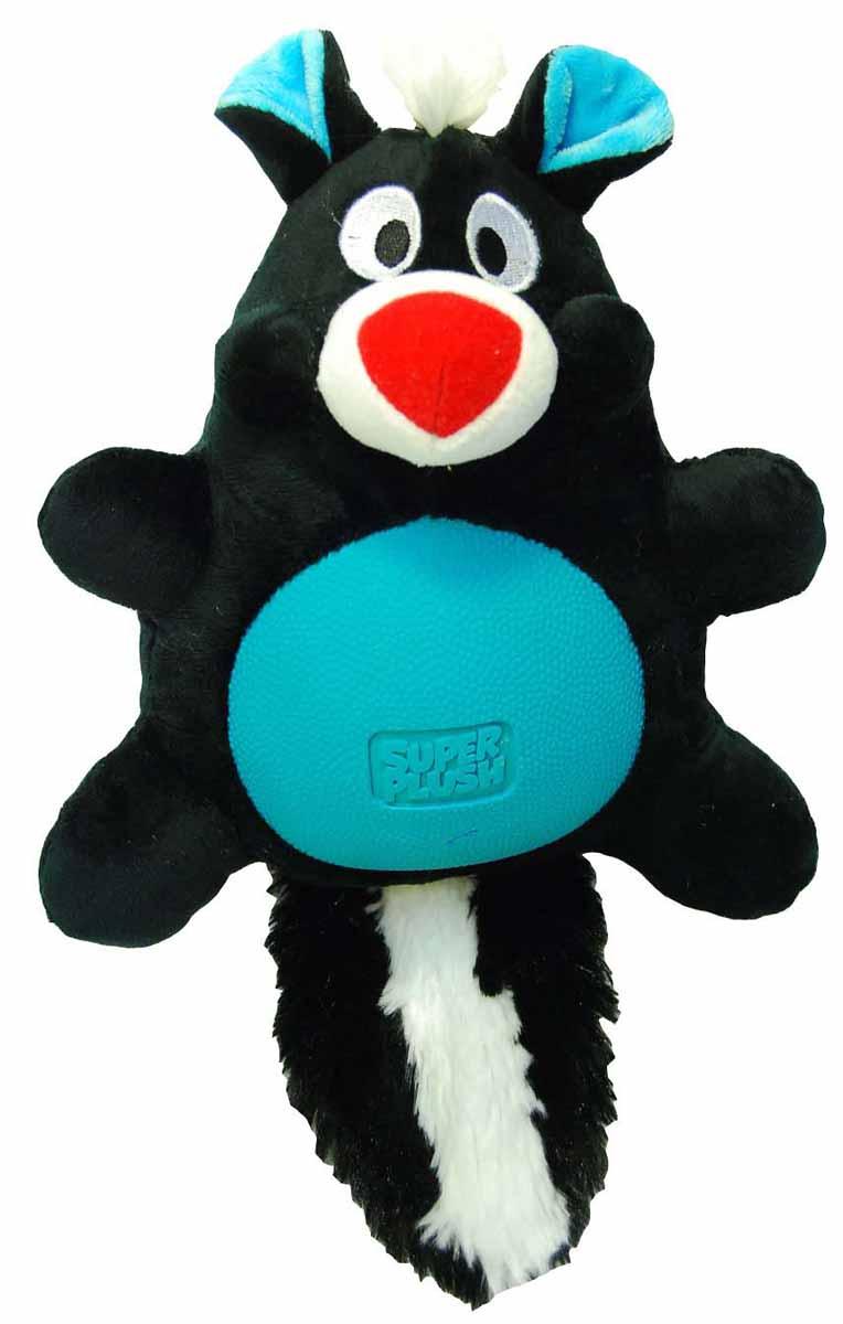 Игрушка плюшевая для собак R2P Pet Multi-tex. Скунс, 30 см. 1132 игрушка плюшевая для собак multi tex утка цвет зеленый желтый коричневый 19 см х 20 см х 8 см