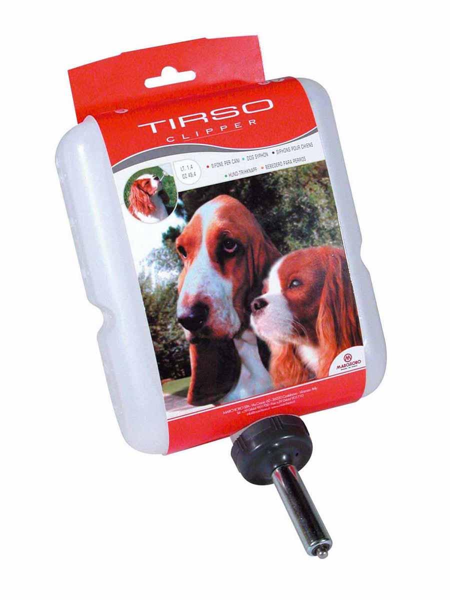 Поилка-непроливайка Marchioro Tirso, для клипперов, 1,4 л1060200800000Поилка-непроливайка Marchioro Tirso предназначена для клипперов и других переносок и клеток. Поилка легко устанавливается и обеспечивает постоянный запас воды вашему любимцу. Предназначена для собак.Объем: 1,4 л.Размер поилки (ДхШхВ): 15 см х 6 см х 21 см.Товар сертифицирован.