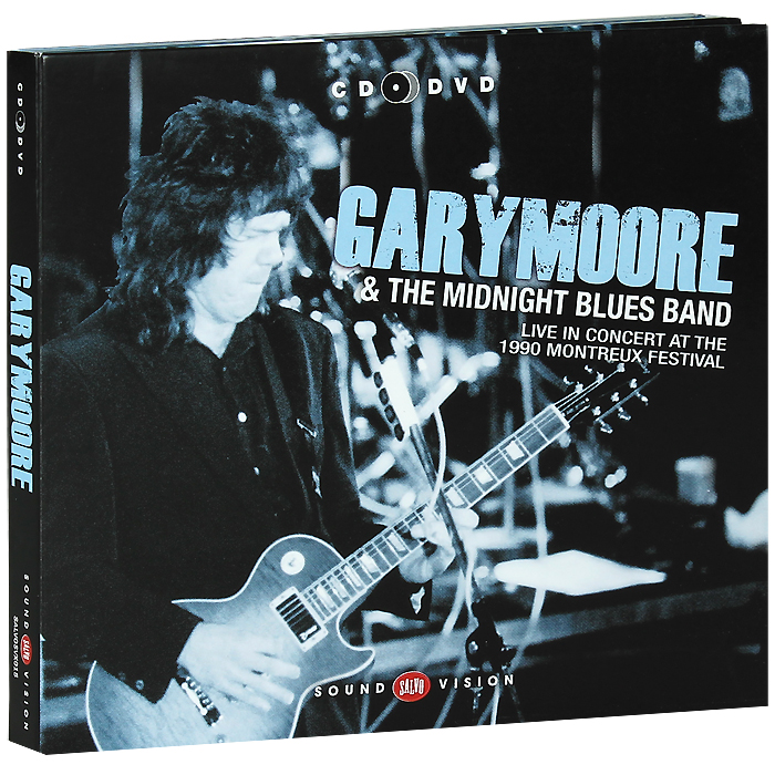 Гэри Мур,The Midnight Blues Band Gary Moore & The Midnight Blues Band. Live In Concert At The 1990 Montreux Festival (CD + DVD) procol harum procol harum live in concert with the edmonton symphony 2 lp colour
