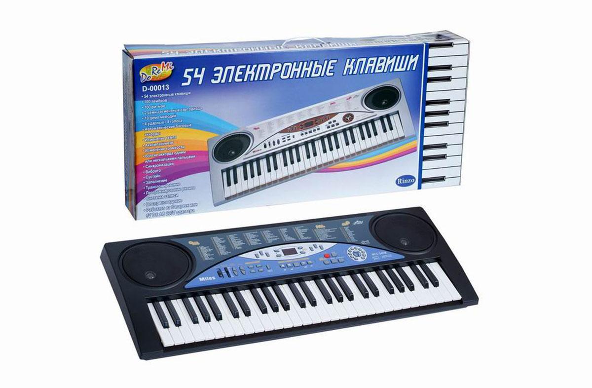 Синтезатор  DoReMi , 54 клавиши. D-00013 - Музыкальные инструменты