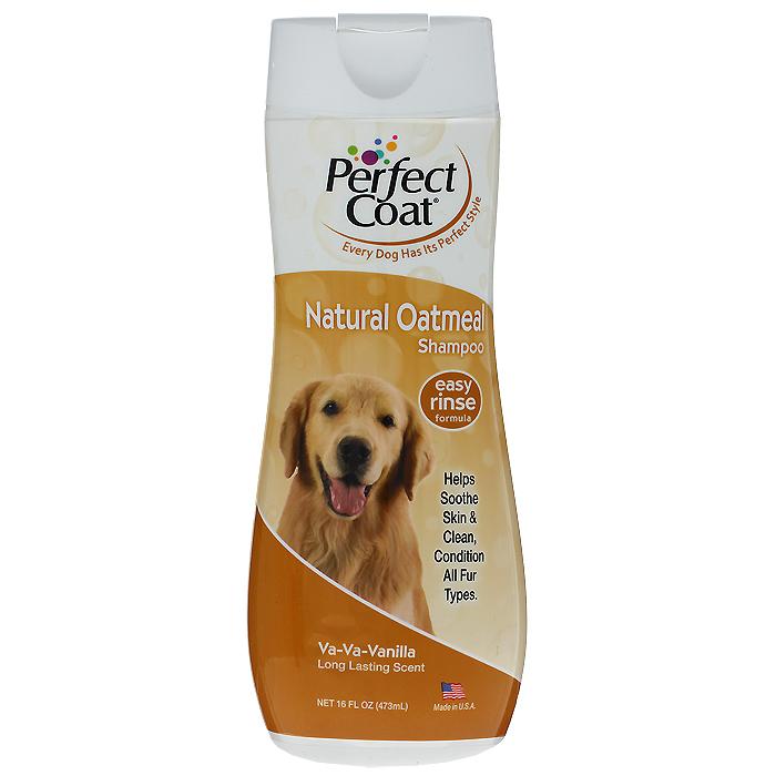 Шампунь для собак 8 in 1 Perfect Coat, успокаивающий c овсяной мукой, 473 млF207Успокаивающий шампунь для собак 8 in 1 Perfect Coat успокаивает сухую, зудящую, раздраженную кожу. Шампунь содержит пантенол для восстановления кожи и придания шерсти мягкости и шелковистости. После купания шерсть надолго сохраняет приятный аромат французской ванили.Легко смываемая формула. Применение: Обильно нанесите на влажную шерсть. Распределите шампунь массирующими движениями, продвигаясь от головы к хвосту и избегая попадания шампуня в глаза. Полностью смойте водой. При необходимости повторить. Расчешите шерсть, чтобы она не спуталась, и высушите полотенцем.Состав: вода, комплекс мягких поверхностно-активных веществ, ополаскиватель, коллоид овсяной муки, ароматизатор, экстракт ромашки, провитамин В, консерванты, соль.Товар сертифицирован.