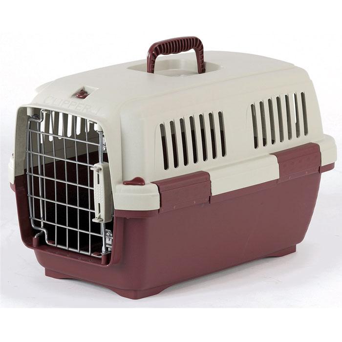 Переноска для животных Marchioro  Cayman 1 , цвет: бежевый, коричневый, 50 см х 30 см х 32 см - Переноски, товары для транспортировки