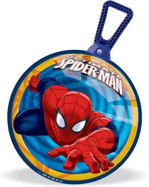 """С таким мячом будет весело не только играть, но и заниматься лечебной физкультурой. Мяч-попрыгун """"Ultimate Spider-man"""" с удобной ручкой-петлей поможет Вашему ребенку укрепить мышцы спины, сформировать правильную осанку, развить вестибулярный аппарат. Прыгая на таком мячике, ребенку придется контролировать свое равновесие, тем самым развивая мышечный корсет и оптимизируя двигательную активность. УВАЖАЕМЫЕ ПОКУПАТЕЛИ! Возможны незначительные изменения в дизайне!"""