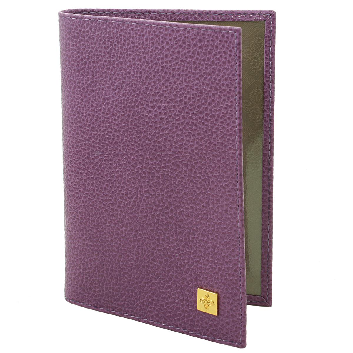 Обложка для паспорта женская Dimanche Purpur, цвет: пурпурный. 100BM8434-58AEОбложка для паспорта Purpur выполнена из натуральной кожи с фактурным тиснением. На внутреннем развороте расположено два вертикальных кармана из прозрачного пластика.Обложка не только поможет сохранить внешний вид ваших документов и защитит их от повреждений, но и станет ярким аксессуаром, который подчеркнет ваш образ. Обложка упакована в фирменную картонную коробку. Характеристики:Материал: натуральная кожа, текстиль, ПВХ. Размер обложки: 9,5 см х 13,5 см х 1,5 см. Цвет: пурпурный.