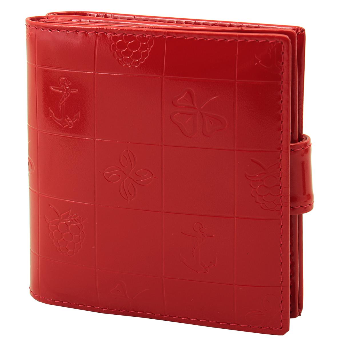 Кошелек женский Dimanche BonBon, цвет: красный. 248W16-12123_811Женский компактный кошелек BonBon выполнен из натуральной высококачественной кожи с декоративным тиснением.Кошелек состоит из двух отделений. Первое отделение закрывается на магнитную кнопку, имеет четыре кармашка для кредиток и карман для монет с клапаном на кнопке. Второе отделение также закрывается на магнитную кнопку и содержит два кармана для купюр. Между отделениями также предусмотрен кармашек. Кошелек упакован в фирменную картонную коробку. Характеристики:Материал: натуральная кожа, текстиль, металл. Размер кошелька: 9,5 см х 10 см х 2,8 см. Цвет: красный.