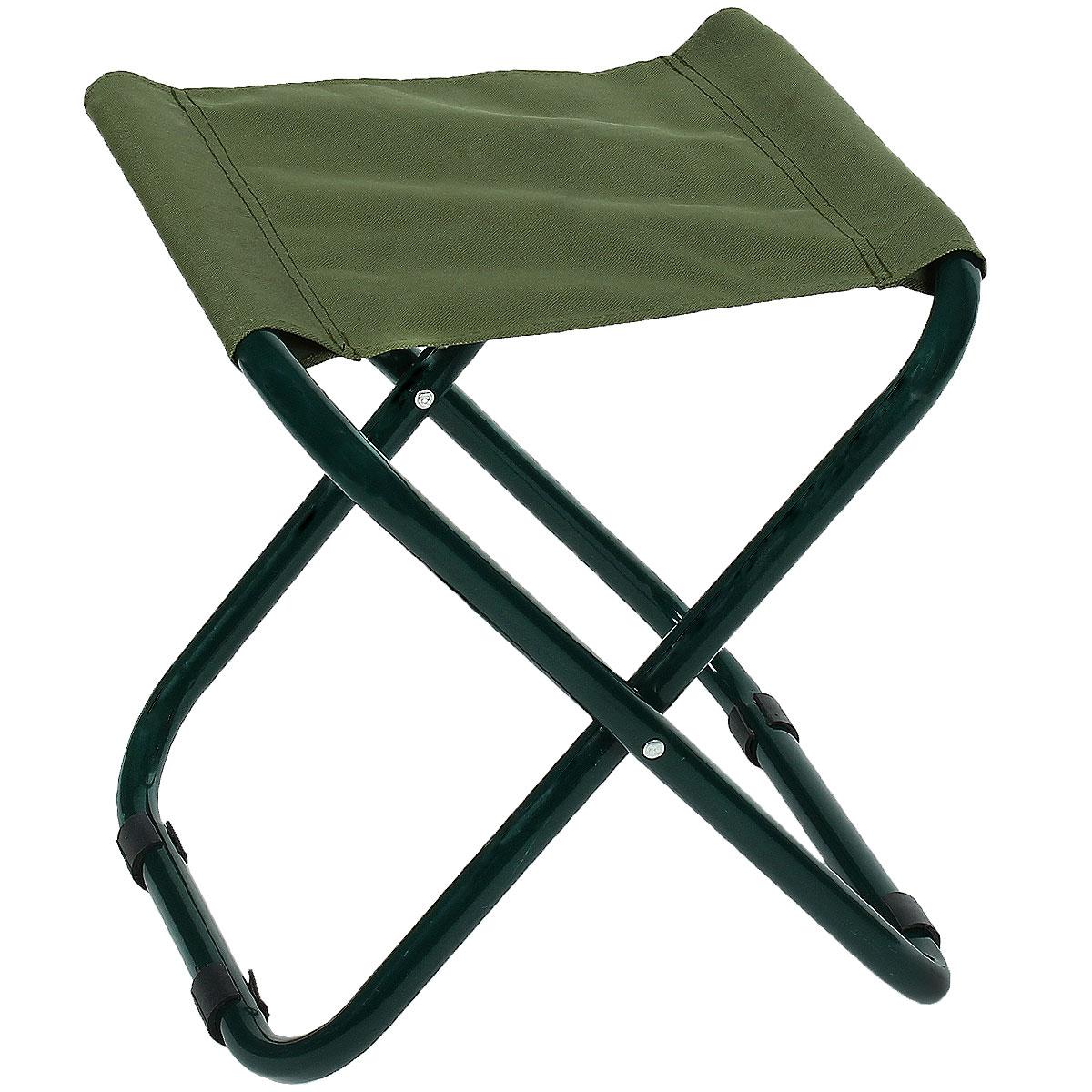 Стул складной Happy Camper, цвет: хакиC-015Стул складной Happy Camper - это незаменимый предмет походной мебели, очень удобен в эксплуатации. Каркас изготовлен из прочной и долговечной стали, устойчивой к погодным условиям. Стул легко собирается и разбирается и не занимает много места, поэтому подходит для транспортировки и хранения дома. Складной табурет прекрасно подойдет для комфортного отдыха на даче или в походе.Материал: 600D ПВХ, каркас - сталь, диаметром 22 мм.Максимальная нагрузка: 60 кг.