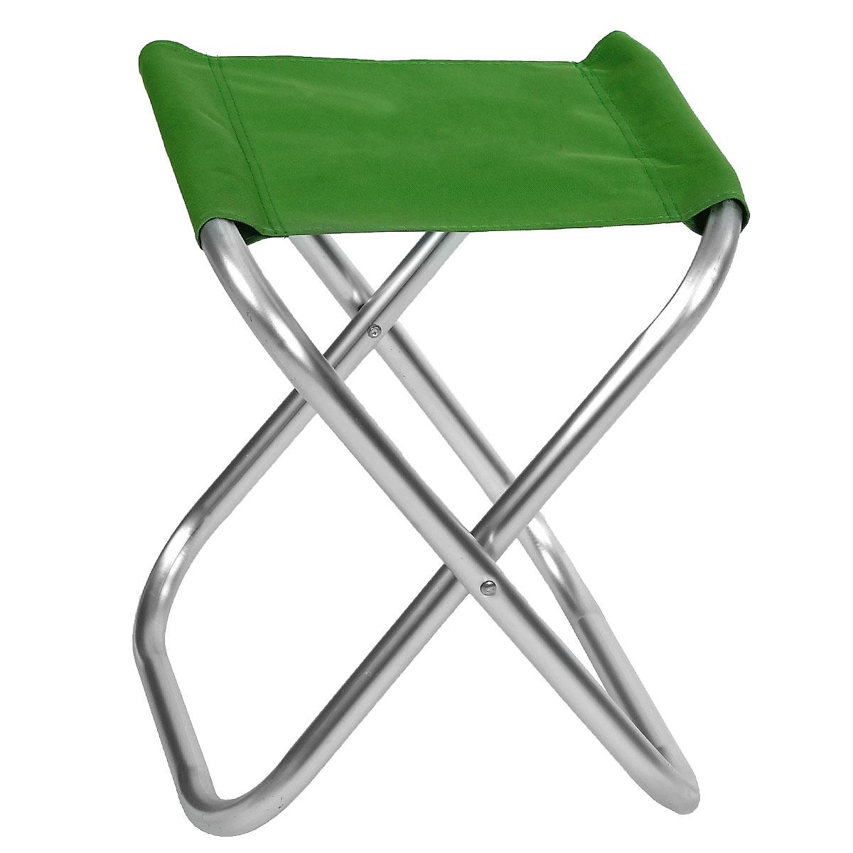 Стул складной Happy Camper, цвет: зеленыйЛК-8107Стул складной Happy Camper - это незаменимый предмет походной мебели, очень удобен в эксплуатации. Каркас изготовлен из прочного и долговечного алюминиевого сплава, устойчивого к погодным условиям. Стул легко собирается и разбирается и не занимает много места, поэтому подходит для транспортировки и хранения дома. Складное кресло прекрасно подойдет для комфортного отдыха на даче или в походе.Материал: 600D ПВХ, каркас - алюминий, диаметром 24 мм.Максимальная нагрузка: 60 кг.