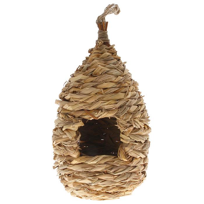 Домик для птиц Gardman, зимний, 24 смBH-SI0439-WWЗимний домик для птиц Gardman сплетен из соломы. В домике есть небольшое отверстие. Для удобного подвешивания предусмотрена петелька из бечевки.Характеристики:Материал: солома.