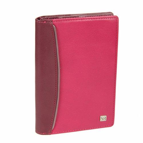 Обложка для документов Sergio Belotti, цвет: фиолетово-розовый. 1424 arezzo carmin fuxiaINT-06501Обложка для автодокументов Sergio Belotti выполнена из натуральной высококачественной кожи. Кожа обработана экстрактами на растительной основе, поэтому она безопасна для здоровья и является экологически чистым продуктом. Внутри имеется два отделения: в первом - съемный блок из 6 прозрачных пластиковых файлов для автодокументов, во втором - два кармашка для паспорта, 6 отделений для пластиковых карт, 2 потайных отделения, сетчатое отделение для фотографии и кармашек для sim-карты. Такая обложка не только поможет сохранить внешний вид ваших документов и защитит их от повреждений, но и станет стильным аксессуаром, который подчеркнет ваш неповторимый стиль.Обложка упакована в коробку из плотного картона с логотипом фирмы. Характеристики:Материал: натуральная кожа, текстиль, пластик. Размер обложки: 15 см х 10,5 см х 2 см. Цвет: фиолетово-розовый.