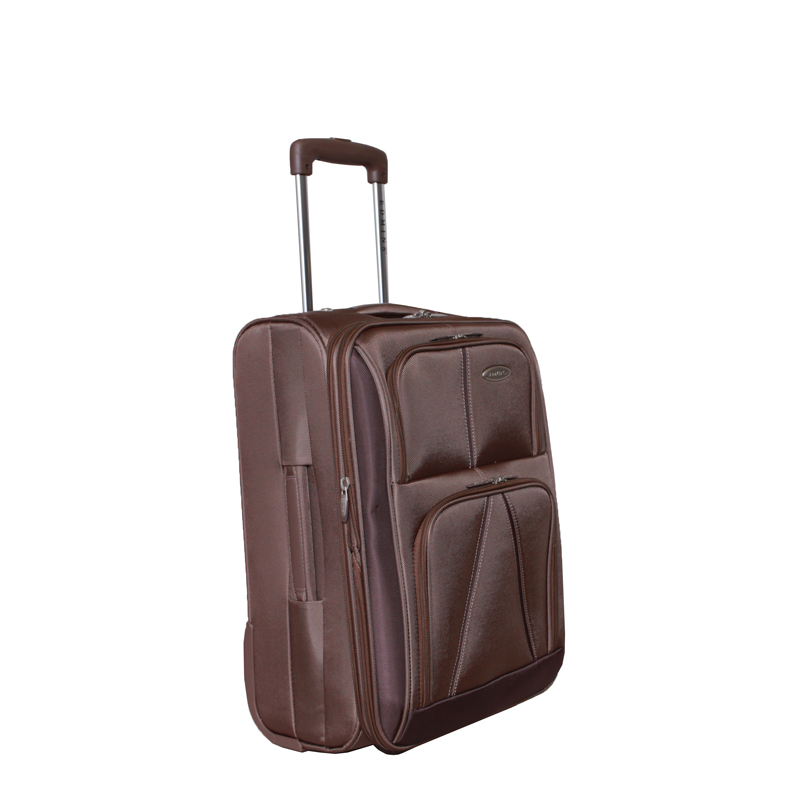 "Чемодан-тележка ""Edmins"", с расширяющимся объемом, цвет: бронза, 10 кг. 243 СТ 720*5"