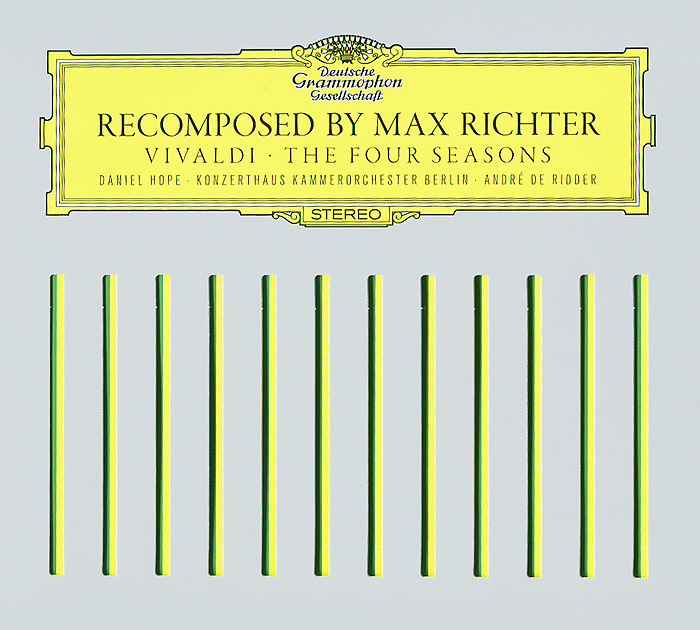 Макс Рихтер,Даниэль Хоуп,Werner Ehrhardt Max Richter. Vivaldi. The Four Seasons (CD + DVD) max richter max richter black mirror nosedive